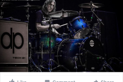 Photography featured on Dixon Drums